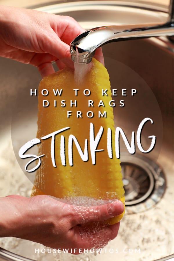 Cómo evitar que los trapos de cocina apesten