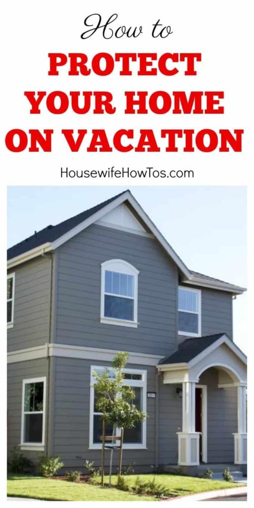 Proteja su hogar durante las vacaciones