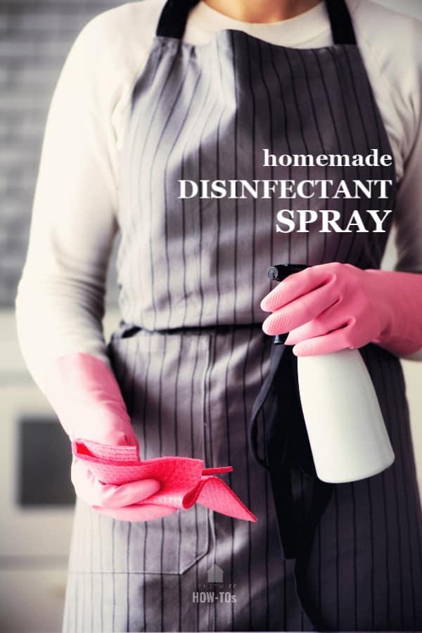receta de spray desinfectante casero